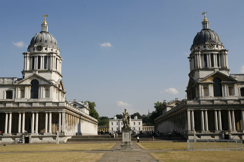 University of Greenwich - Clock Towers and Queens House